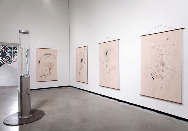 Nikolaus Gansterer, Maps of Bodying, 2019, installation view at Marta Herford Museum, Germany