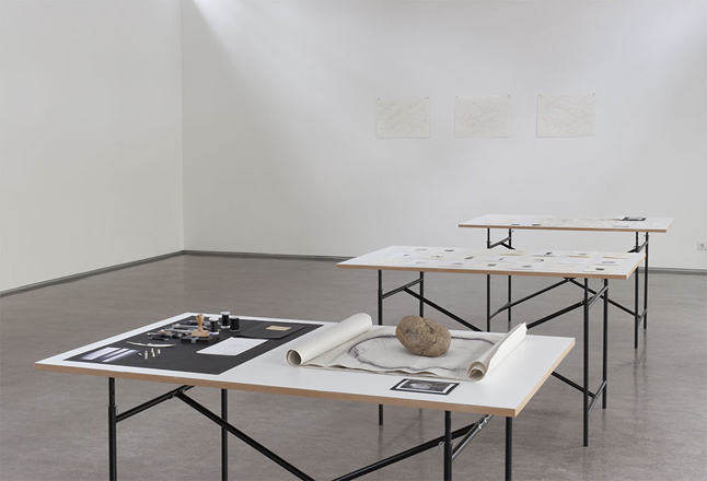 Installation view, Traces of Spaces, Galerie Stadtpark, Krems, 2011