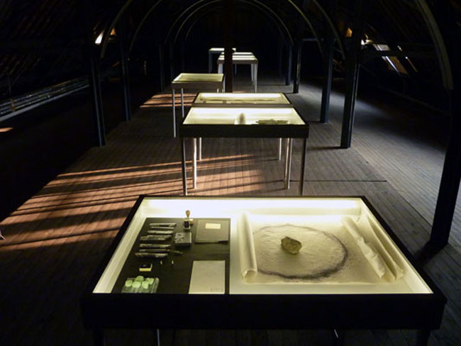 Installation view, Traces of Spaces, Vooruit Art Centre, Gent, Belgium, 2011