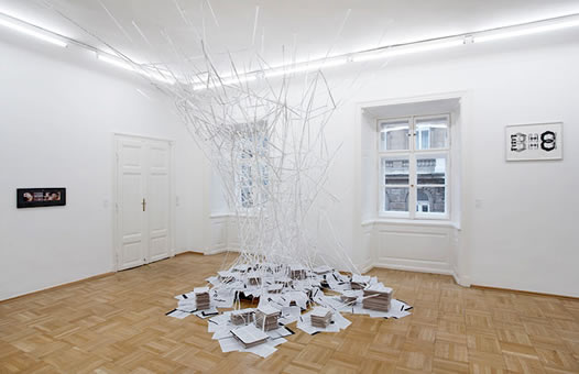 Installation view, Galerie n. St. Stephan, Rosemarie Schwarzwlder, Vienna, 2006.