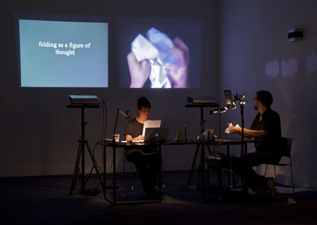 Drawing on Drawing a Hypothesis -  Performance Lecture at MHKA, Antwerp