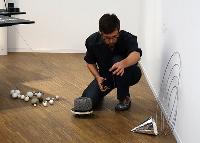 Nikolaus Gansterer, Drawing Matters Other Others – A Translecture, 2015, at Albertina Museum, Vienna, Austria
