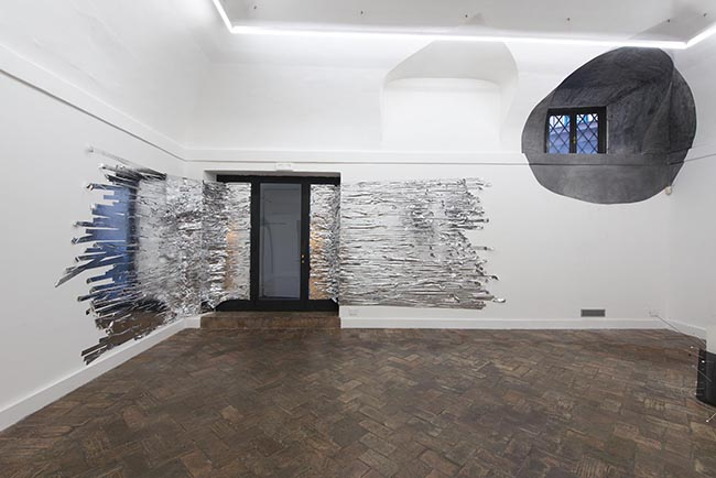 Proxemia - The Co-Creation of Space, Nikolaus Gansterer and Monika Grzymala, 2015, installations views  at Gallery Marie Laure Fleisch, Rome, Italy
