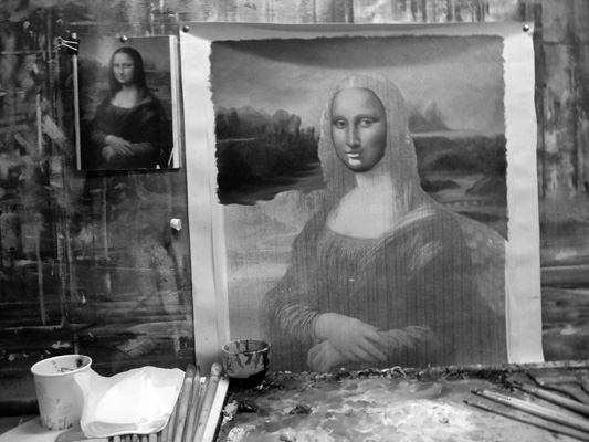 Making of Mona Lisa, China 2008