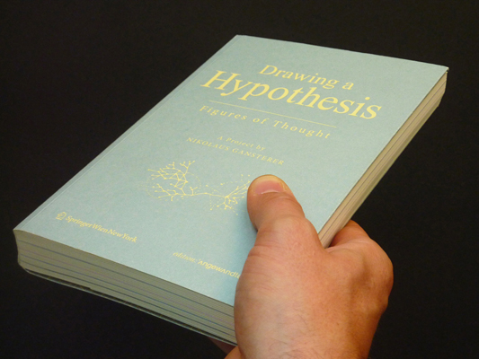 Drawing a Hypothesis, Nikolaus Gansterer, 2011 (front cover)
