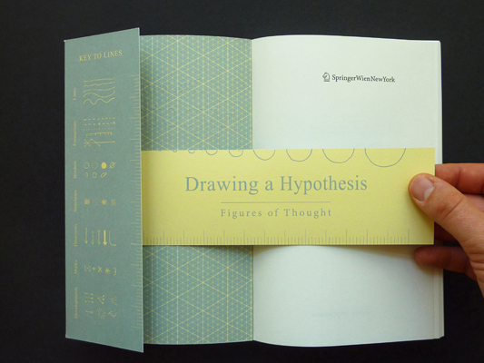 Drawing a Hypothesis, Nikolaus Gansterer, 2011 (book mark)
