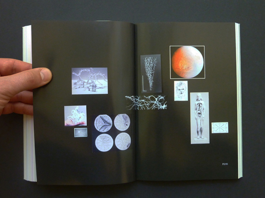 Drawing a Hypothesis, Nikolaus Gansterer, 2011 (sample spreads)