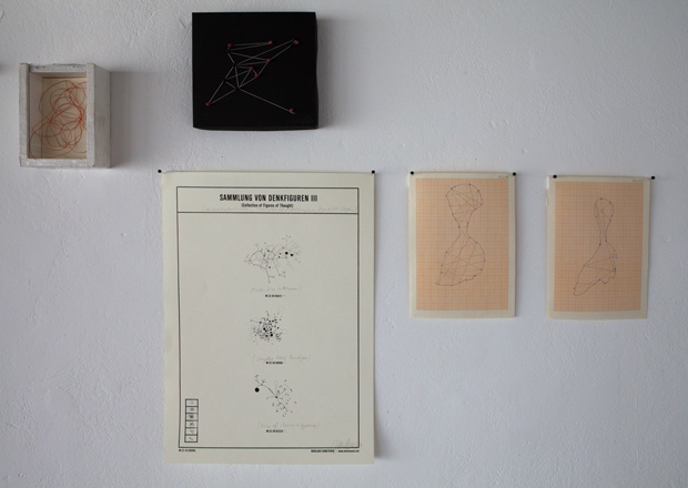 Drawing a Hypothesis, Figures of thought, Installation view