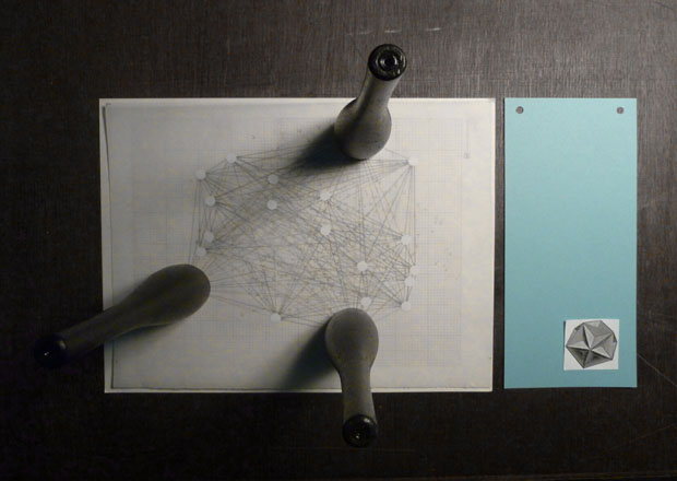 Drawing a Hypothesis, Table of contents, Installation view, Archive Books, Berlin, 2012