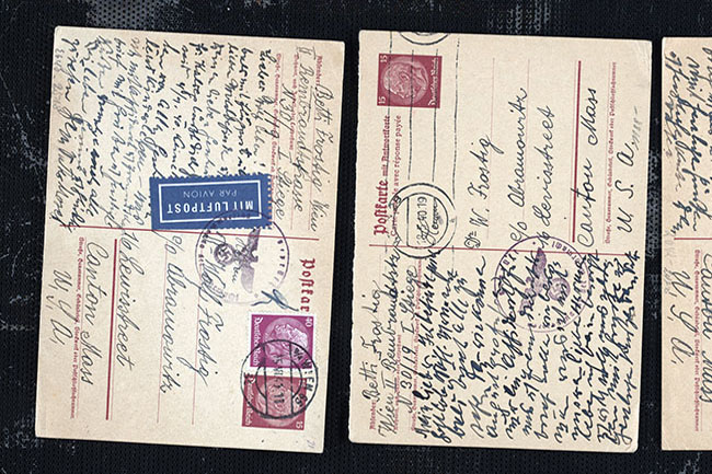 Documents & letters of Holocaust victims and survivers