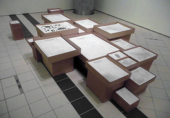 Installation view, Technisches Museum, Vienna, 2009