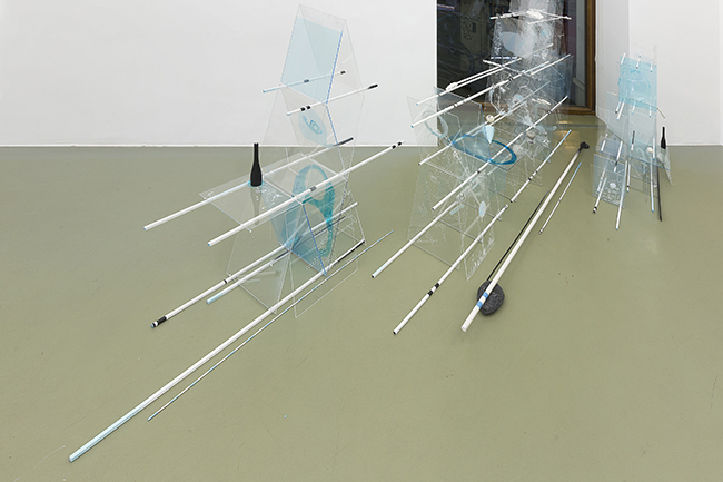 Proxemia II - Another Co-Creation of Space, Nikolaus Gansterer, 2016, installations views at Gallery Crone, Vienna, Austria