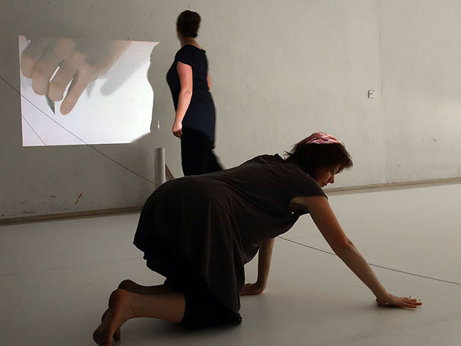 Choreo-graphic Figures, Summer Method Lab, ImPulsTanzFestival, Vienna, 2014