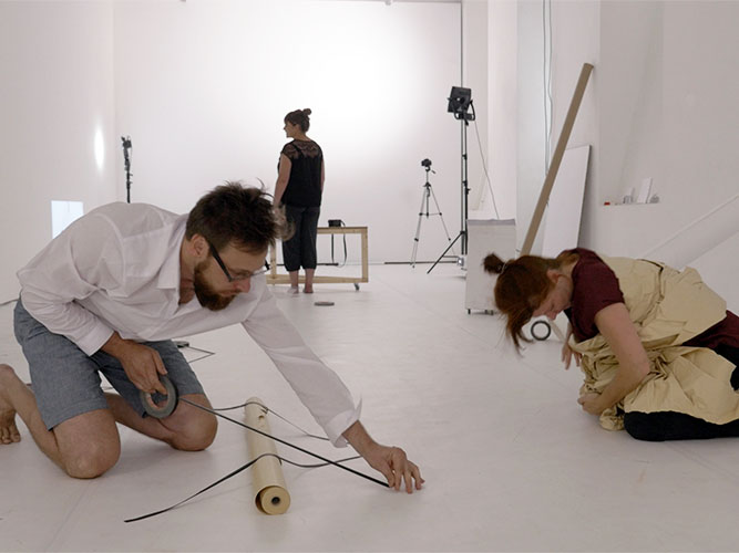 Choreo-graphic Figures, Summer Method Lab, Radical Scores of Attention AILab, ImPulsTanzFestival, Vienna, 2015